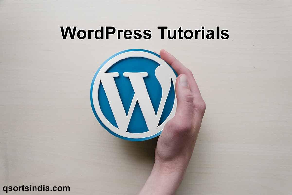 WordPress Website Tutorial Classes to Create Your Website