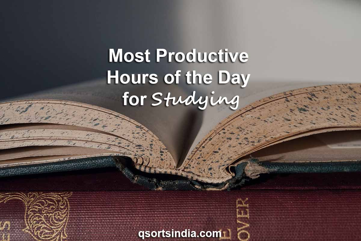 Most Productive Hours of the Day for Study