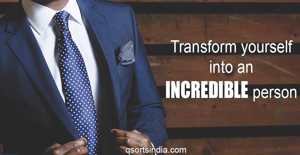 Transformation Coaching for Creating an INCREDIBLE YOU