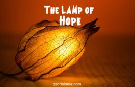 The Only Lamp of Hope in Times of Distress