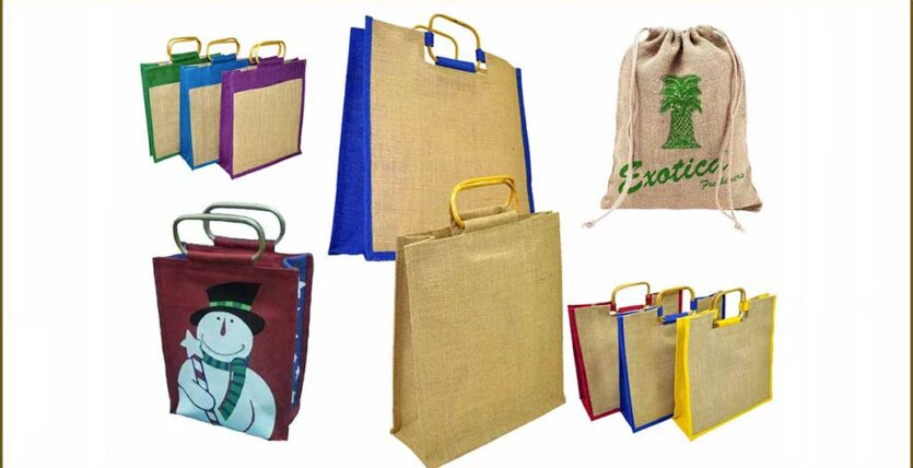 Beautiful Jute Shopping Bags to Carry Along in the Market