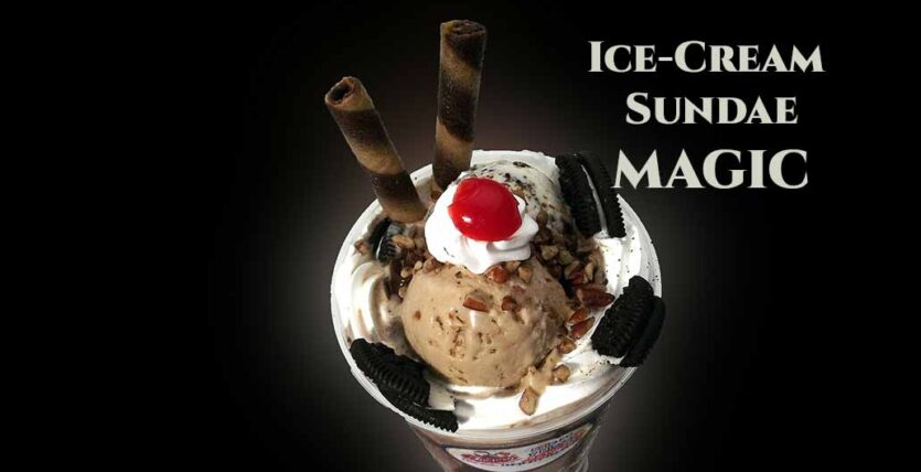 This Ice-Cream Sundae Could Bring Happiness in Your Life